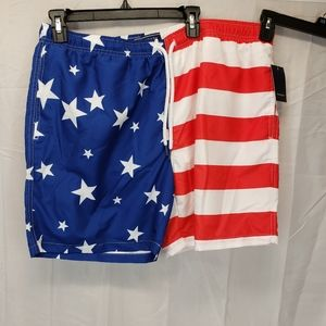 New Crown & Ivy XL swim trunks shorts Ameri